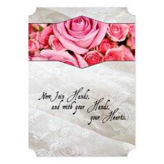 Shakespearean Renaissance Roses Wedding Invitation