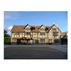 Shakespeare's Birthplace in Stratford Upon Avon Postcard