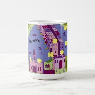 Shakespeare's London: London Bridge Coffee Mug