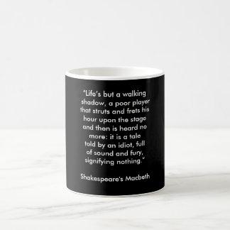 Shakespeare's Macbeth - coffee mug