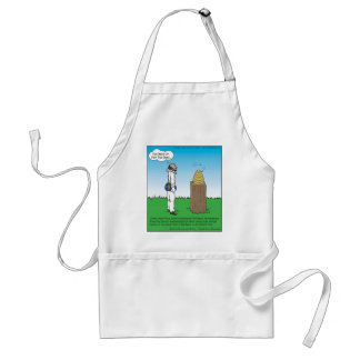Shakespeare's The BeeKeeper Funny Gifts & Tees Standard Apron