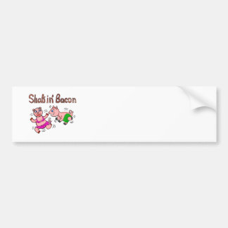 Shakin Bacon Depansted Pigs Bumper Stickers