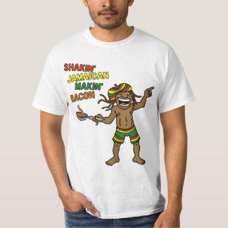 Shakin' Jamaican Makin' Bacon T-Shirt