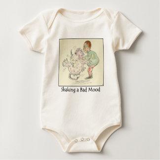 Shaking a Bad Mood Organic Infant Creeper