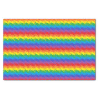 Shaking Rainbow Tissue Paper
