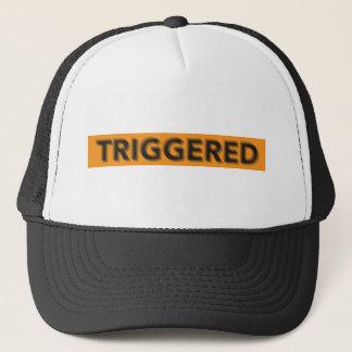 Shaking Triggered Trucker Hat