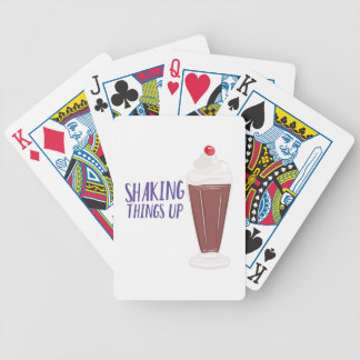Shaking Up Bicycle Playing Cards