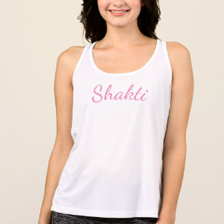 Shakti Female Energy Yoga Workout Tank