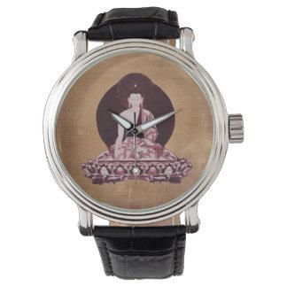 Shakyamuni Buddha Grunge Vintage Watch