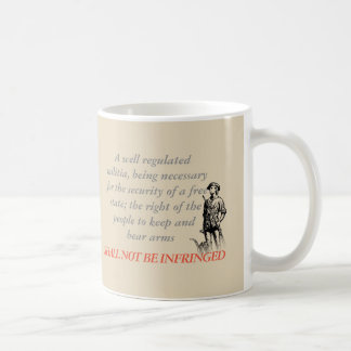 Shall Not Be Infringed Coffee Mug