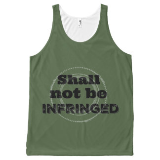 Shall Not Be Infringed - Patriot Pride All-Over Print Singlet