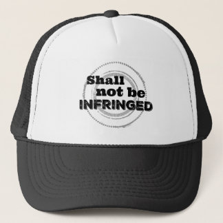 Shall Not Be Infringed - Second Amendment Pride Trucker Hat