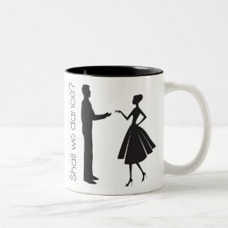 Shall We Dance? Two-Tone Coffee Mug