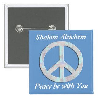 Shalom Aleichem Button