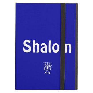 Shalom Blue iPad Case with Kickstand
