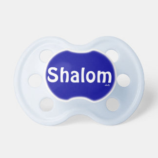 Shalom Blue Pacifier BooginHead Pacifier