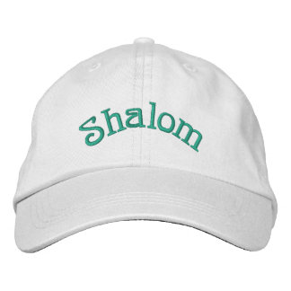 Shalom Embroidered Cap