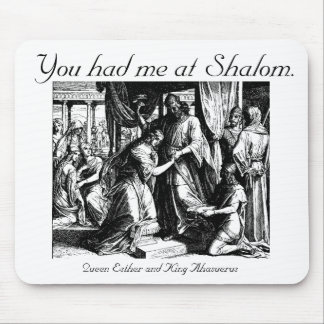 Shalom Mouse Mouse Pad