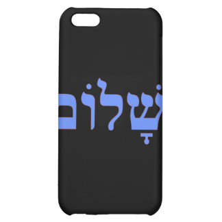 Shalom Peace in Hebrew Cover For iPhone 5C
