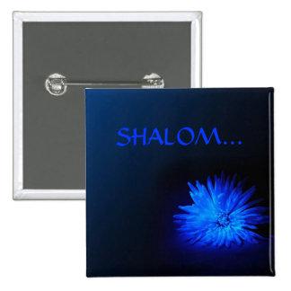 SHALOM Religious buttons
