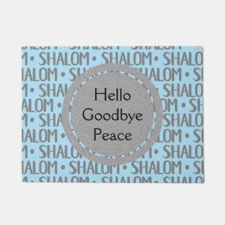 Shalom Repeat Pattern Doormat