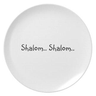 Shalom.. Shalom.. Plates