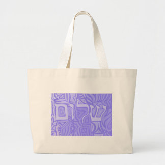 Shalom Jumbo Tote Bag