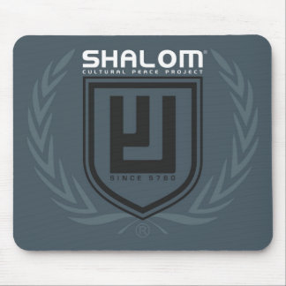 Shalom Tri Color Crest Mousepad
