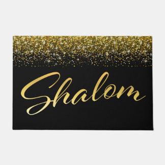 Shalom Welcome Door Mat