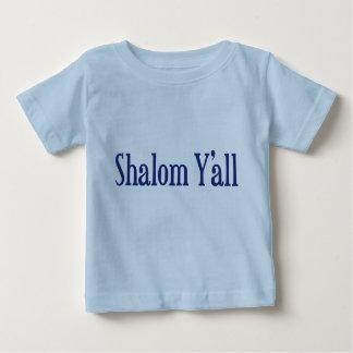 Shalom Y'all Baby T-Shirt