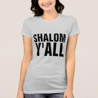 SHALOM Y'ALL, Funny Jewish T-shirts