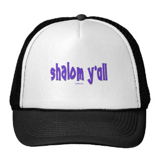 SHALOM Y'ALL GIFTS MESH HAT