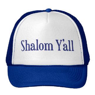 Shalom Y'all Hat