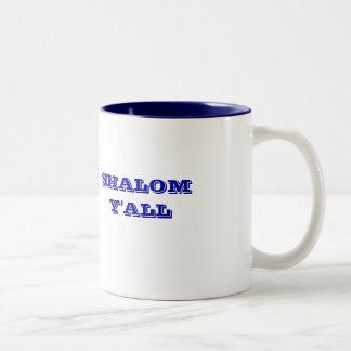 SHALOM Y'ALL JEWISH MUG
