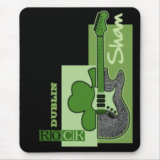 Sham Rock. St.Patrick's Day Customizable Mousepads