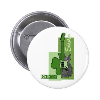 Sham Rock. St. Patrick's Day Gift Buttons
