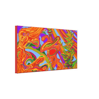 Shaman Art Canvas Print