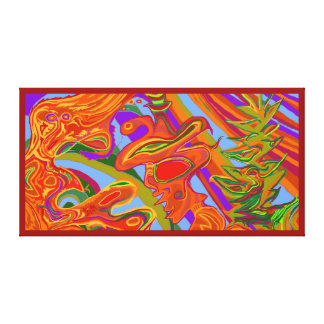 Shaman Art - large Canvas Print