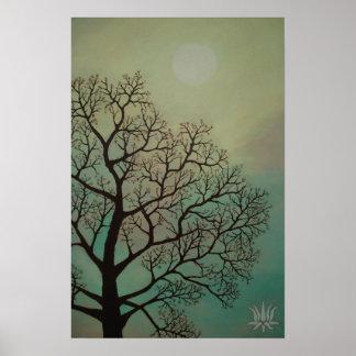 Shaman Tree Print