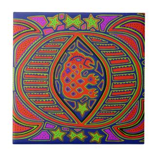 Shaman Turtle Spirit Ceramic Tile