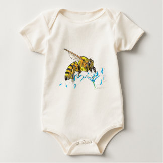 Shamanic Spirit of Bee Baby Bodysuit