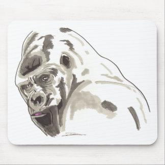 Shamanic Spirit of Gorilla Mouse Pad