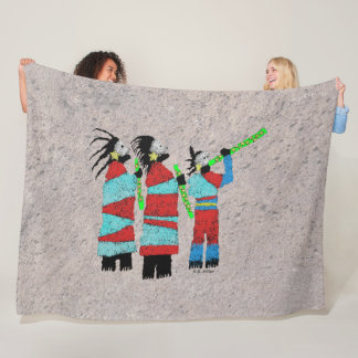 Shamans Chant Fleece Blanket