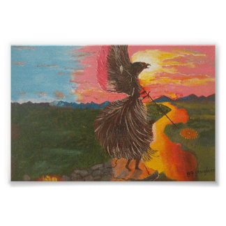 Shamans Eagle Spirit Poster