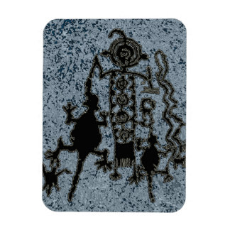 Shamans Quest Rectangular Photo Magnet