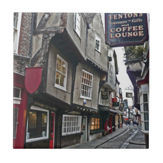 Shambles Street of York Small Square Tile
