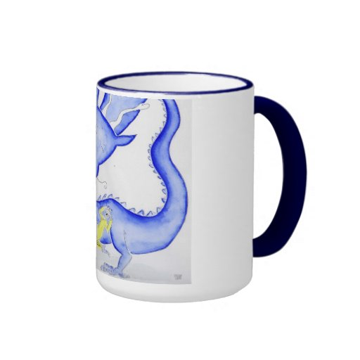 Shame falls down coffee mug