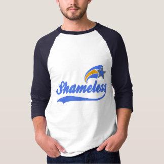 Shameless Star Faux Baseball T-Shirt