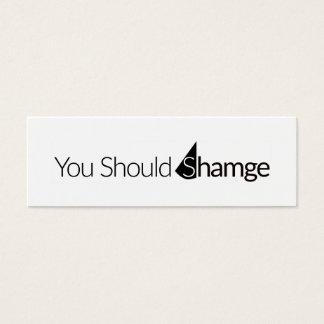 Shamge Card