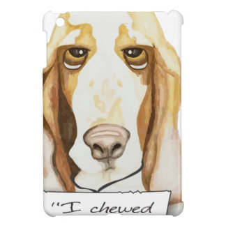 Shaming the Dog Basset Hound Cover For The iPad Mini